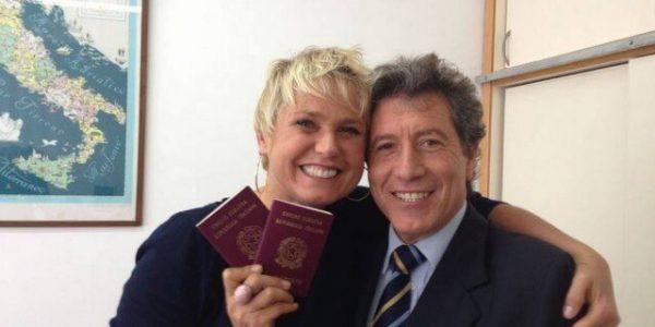 xuxa passaporte italiano